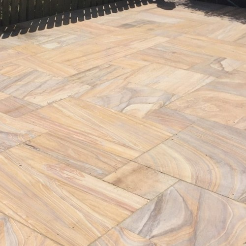 rainbow sawn smooth sandstone