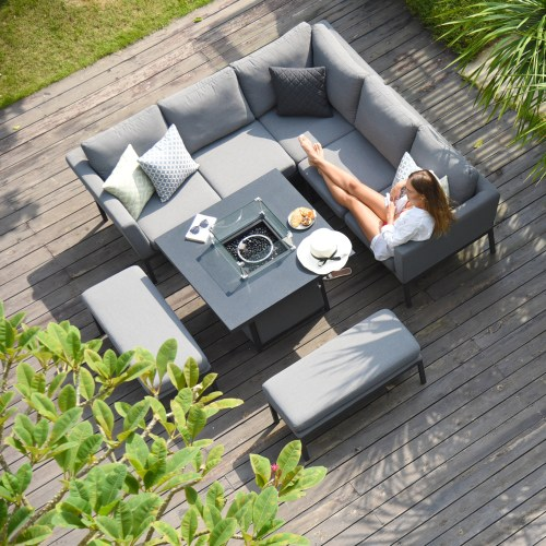 Pulse Fire Pit Sets (OUTDOOR FABRIC)