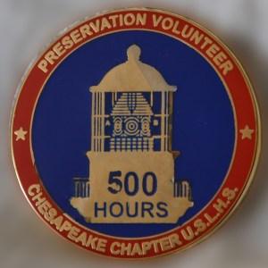 500 hrs pin