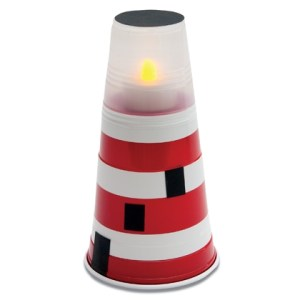 Solo Cup Mini Lighthouse