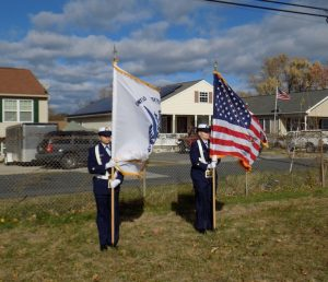 Coast Guard color guard