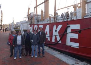 Volunteers close the 2018 preservation year at the Chesapeake Lightship
