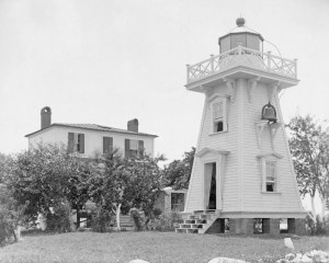 Jordan Point Lighthouse-1885/National Archives Photo