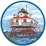 Thomas Point Artist Trading Coin