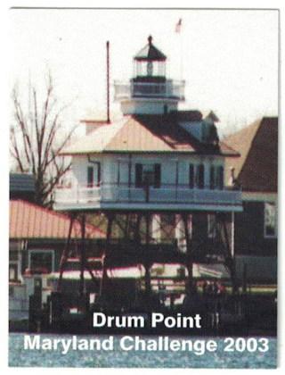 2003 Souvenir Stamp - Drum Point