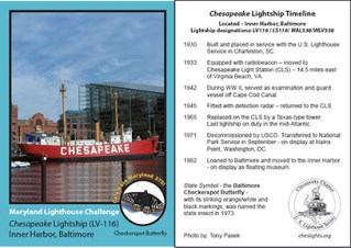 2009 Lightship Chesapeake Card