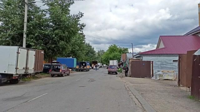 Улица мира мигранты
