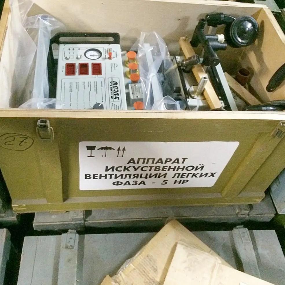 Силовики задержали сбытчиков просроченных аппаратов ИВЛ