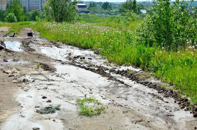 Бетонные реки со стройки в Веризино
