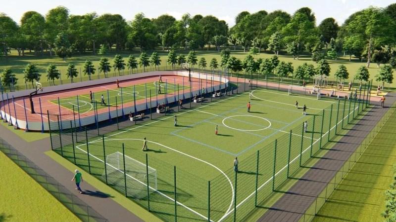 В парке «Добросельский» появится спортивный комплекс