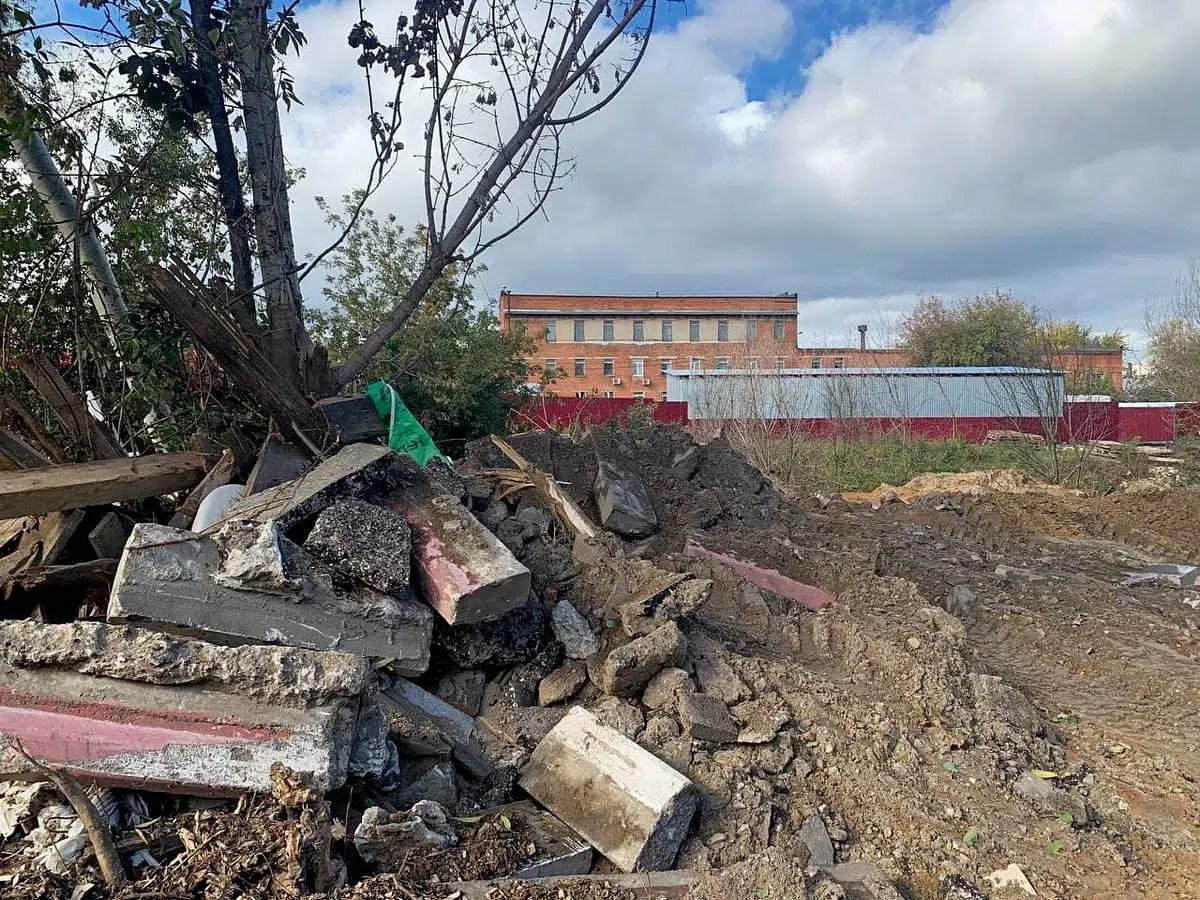 Владимир зарастает свалками строительных отходов