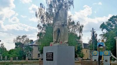 В Гусь-Хрустальном восстановили памятник Дзержинскому