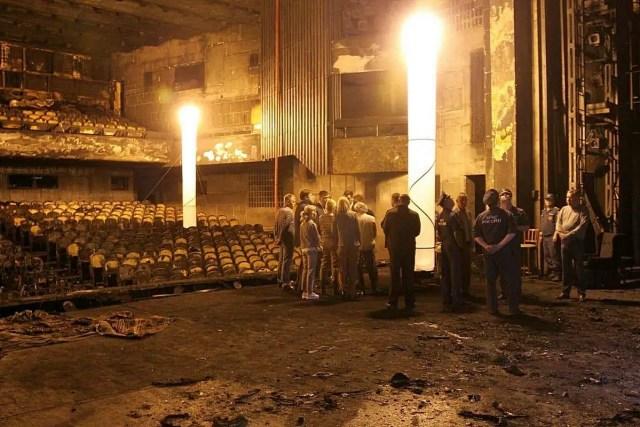 Сипягин драмтеатр пожар