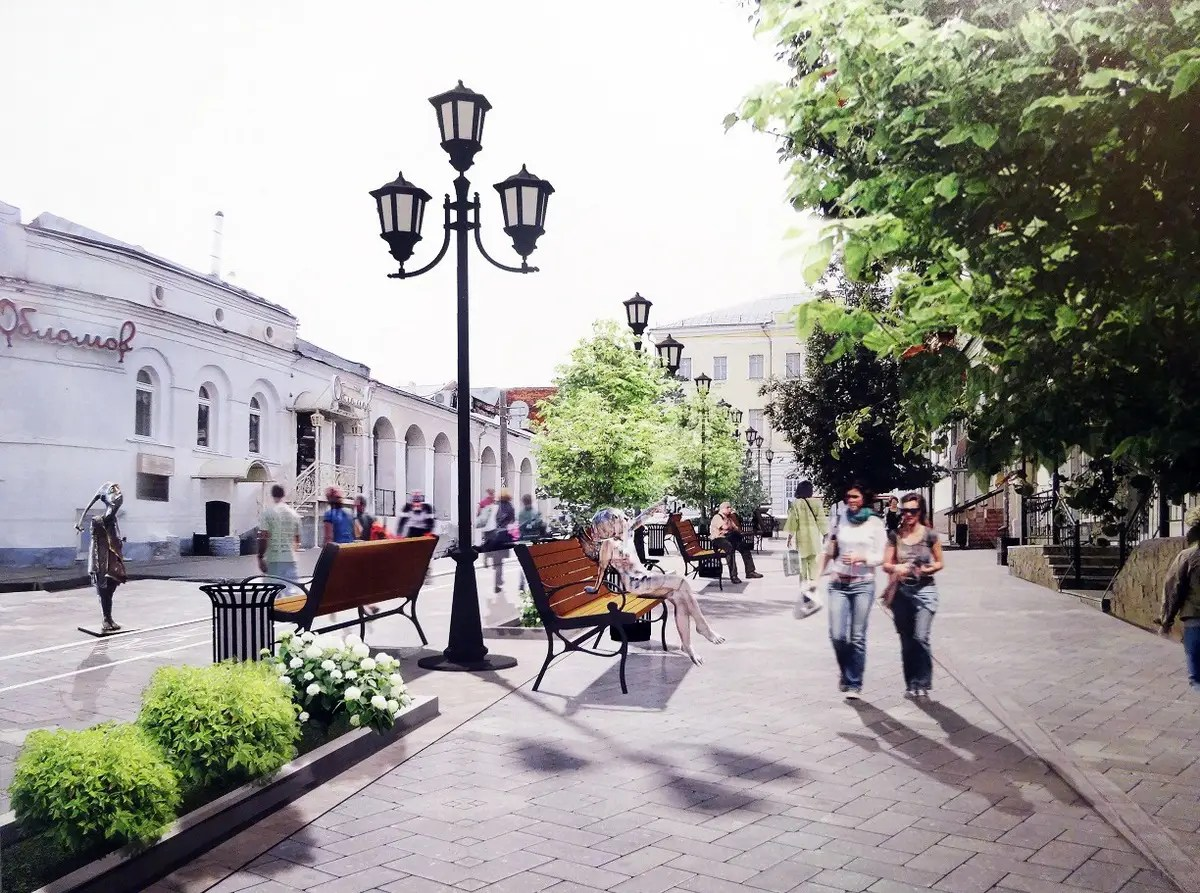 Когда станет пешеходной улица Девическая?