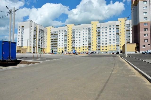 Двор-парковка в Веризино-2