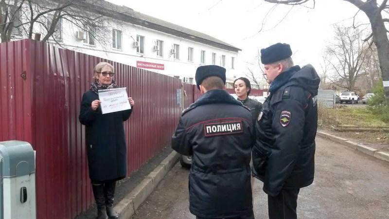 Миграционный центр пожаловался в полицию на протестующих владимирцев