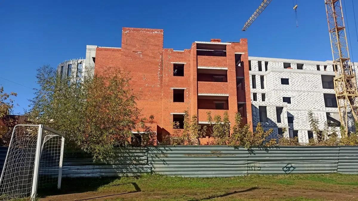 В ЖК «Вишня-парк» во Владимире возводят лишний этаж