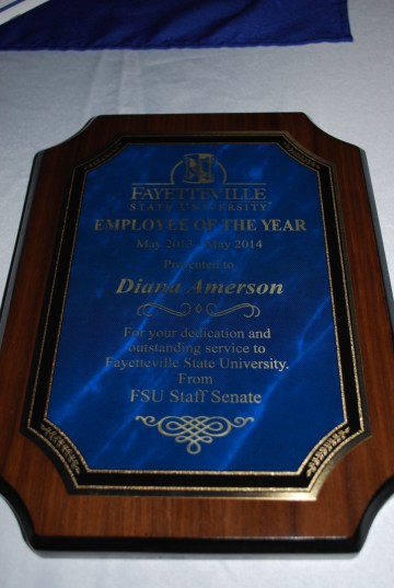 Diana Amerson (Gov't Docs Librarian) 2013-2014 Staff Employee of the Year