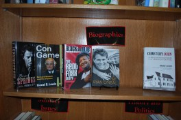 Spotlight on New Titles: New Books Shelf