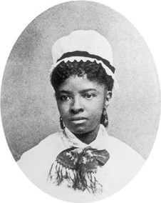 """Mary Eliza Mahoney, the first African American professional nurse, c. 1860s. In 1976 she was named to the nursing Hall of Fame."""