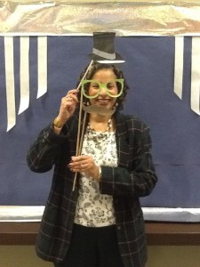 Mrs. Council (Chesnutt Library Photo Booth), Homecoming 2013, Fayetteville State University)
