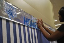 Mrs. Sawyer (Chesnutt Library Photo Booth), Homecoming 2013, Fayetteville State University)