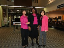 Pink Day: Breast Cancer Awareness Day, October 9th, 2013, Chesnutt Library