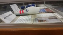 #ChesnuttArchives NC Archives Month Display - FSU Broncos Lady Bowlers Display - 1st Floor Library Display - Chesnutt Library, Fayetteville State University (10.14.2014)
