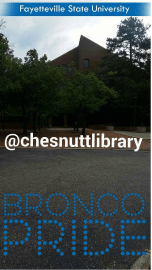 Follow @chesnuttlibrary on Snapchat