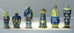 Sevres Abstract Chessmen