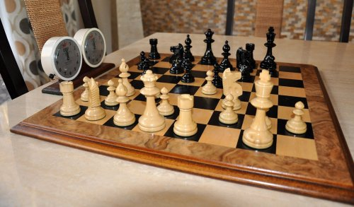 William Pinney Antique Chess Set