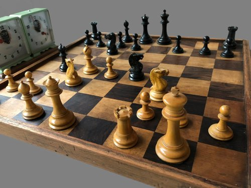 Richard Whitty Antique Chessmen
