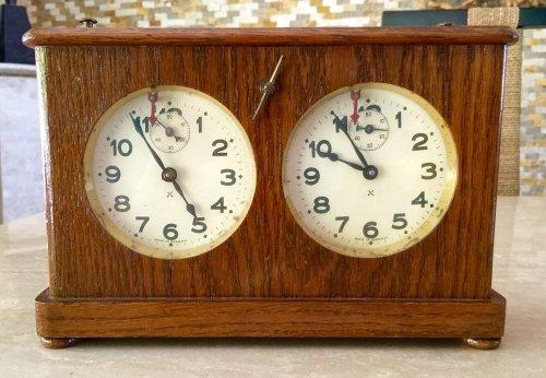 Antique Federation Chess Clock