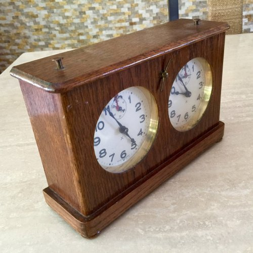 Antique Federation Chess Clock