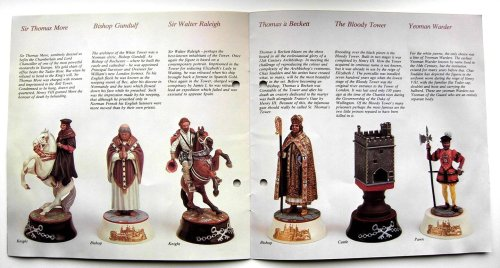 Tower of London Chess Set