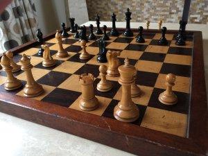 SCA Antique Staunton Chessmen