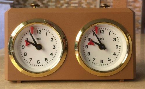 Analog BHB Chess Clock