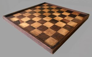 Antique Tournament Chessboard