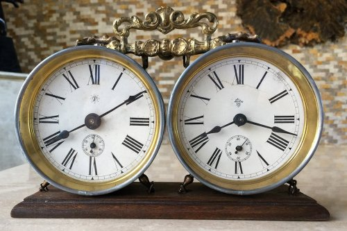 Junghans Antique Chess Clock