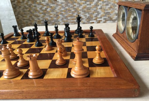 Jaques Anderssen Tournament Chessmen