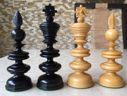 Reproduction Thomas Lund 1820 Chessmen