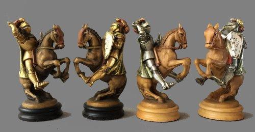 18 Carat Gold Anri Monsalvat Chess Set