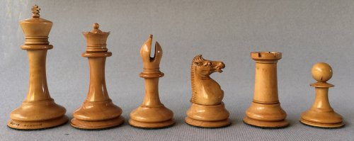 Jaques Anderssen Drop Jaw Chessmen