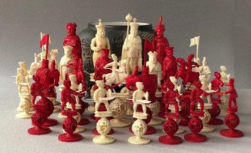 George III Puzzleball Chess