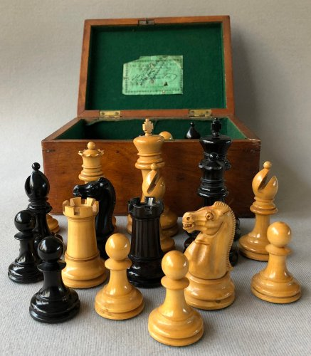 Jaques Lasker Chessmen, Small Club Size