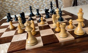 William Pinney Antique Chessmen, Tournament Size