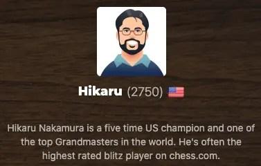 Hikaru Nakamura bot