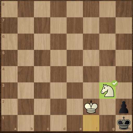 knight checkmate