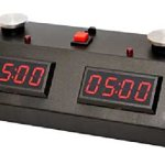 ZMart Fun ZMF-II Digital Chess Clock – Red LED Display / Black Case