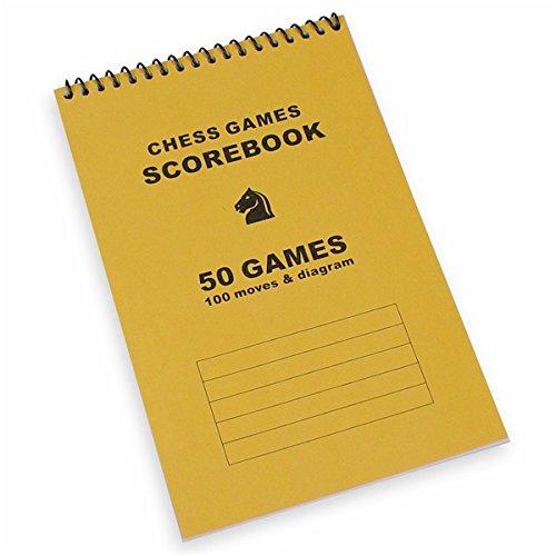Quality Chess Scorebook – Orange